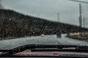 A little rain never hurt anyone right?