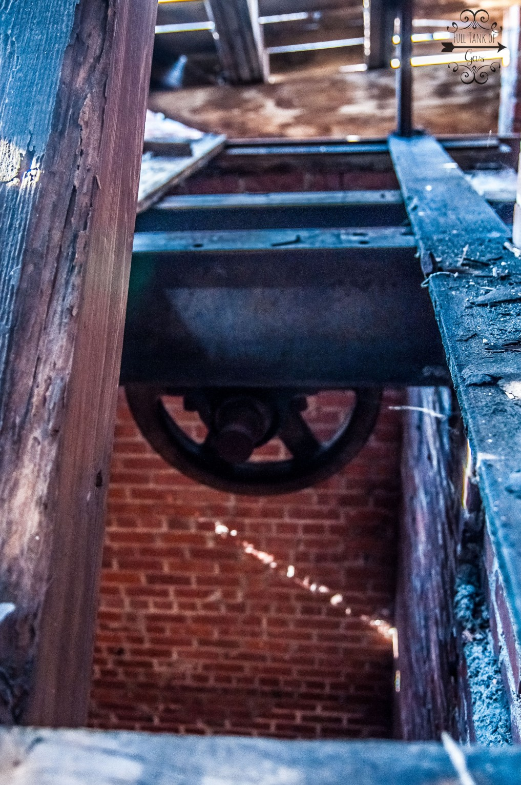 pulley for the original elevator